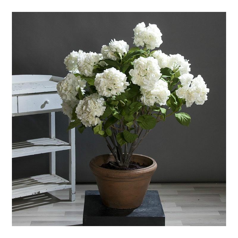 Biała Sztuczna Hortensja
