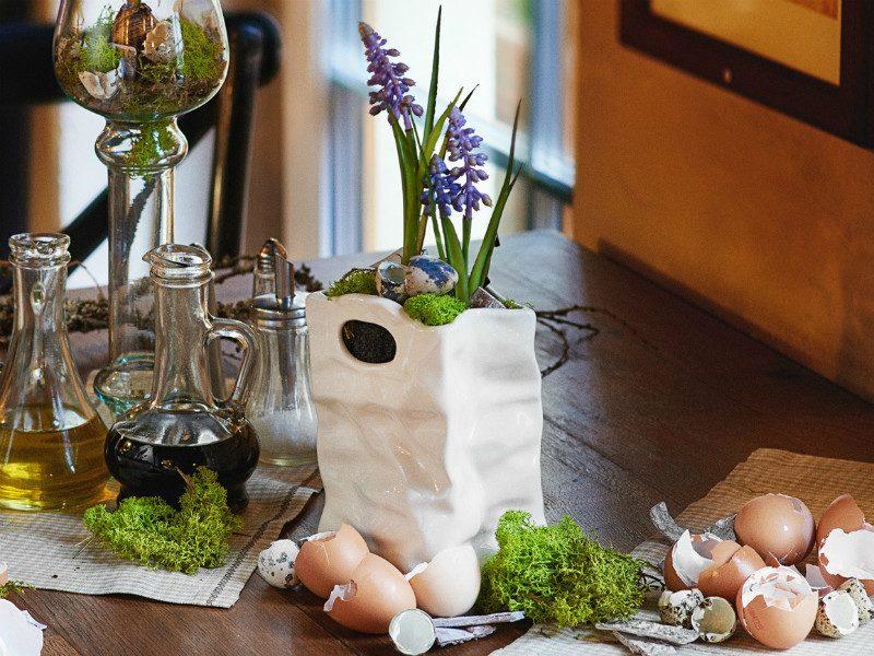 sztuczne szafirki w ceramicznej torebce wysoka jakość