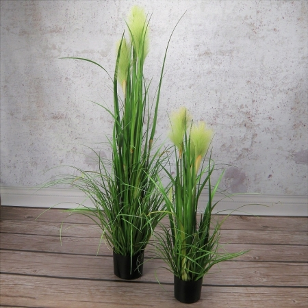 sztuczna trawa wysoka trawa pampasowa