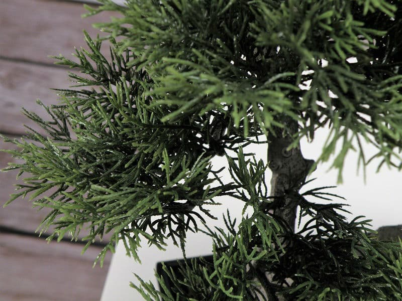 sztuczny bonsai w donicy jakość