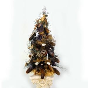 Bożonarodzeniowa Choinka -Naturalne Dodatki 82 cm