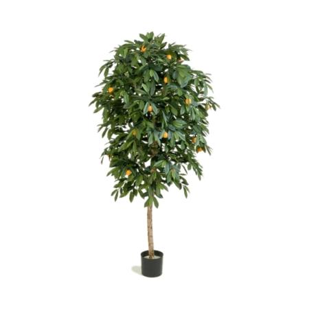 sztuczne drzewko mandarynkowe