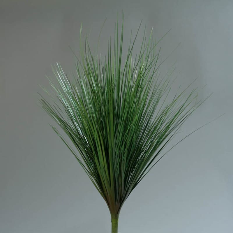 Zielona Gałązka Sztucznej Trawy Bush 70 cm