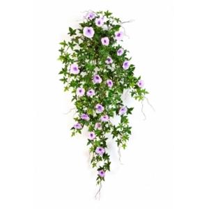 Sztuczny Kwitnący Bluszcz- Powój-fiolet