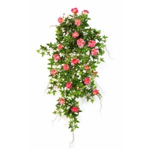Sztuczny Kwitnący Bluszcz- Powój-Róż