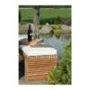 Drewniana ławka ogrodowa MODULO p1