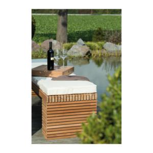 Drewniana ławka ogrodowa MODULO