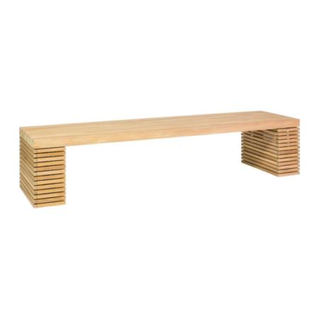 Drewniana ławka ogrodowa MODULO p2
