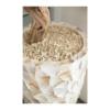 Donica z Perłowych Muszli SHELL biała a1