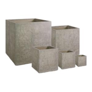 Donica Division Plus Kwadrat Naturalny Beton