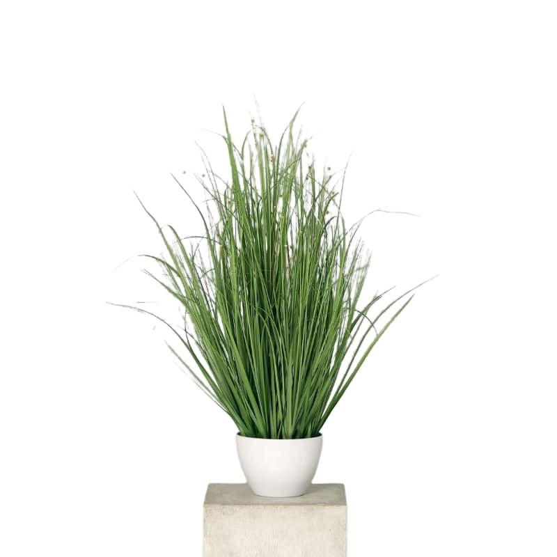 Trawa z kwiatami w donicy 80 cm