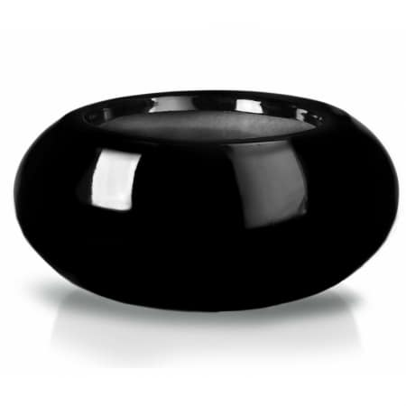 Donica Donut Nero Fiber-Glass