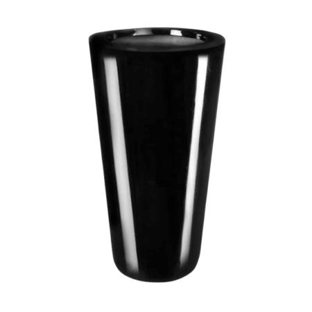 Donica Stożek Nero Fiber-Glass