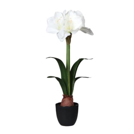Sztuczny Amarylis w Donicy 54 cm